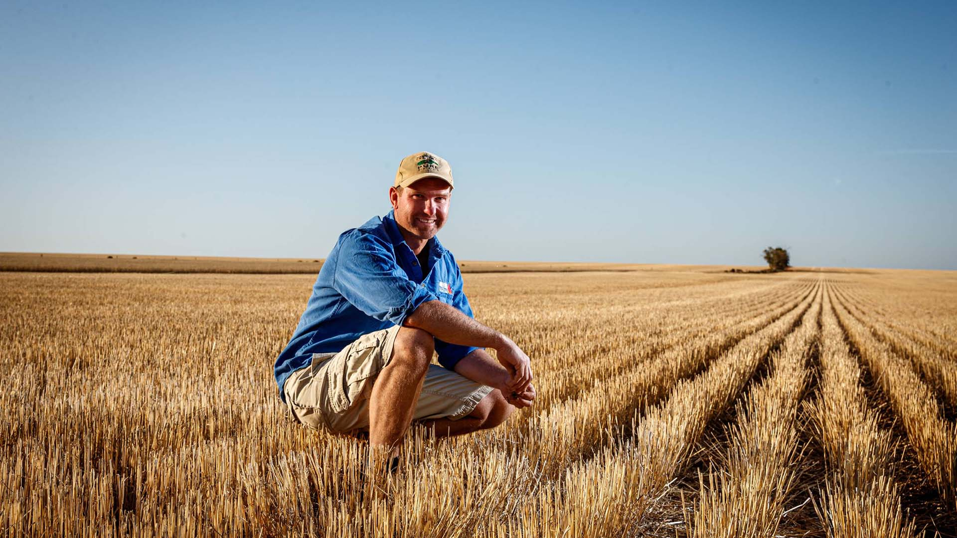 Grant has implemented a chicken manuring program across 2400 hectares of the original family farm at Paskeville on South Australia's Yorke Peninsula. PHOTO Matt Turner