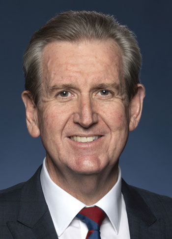 The Honourable Barry O'Farrell AO, High Commissioner to India.