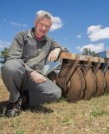Former NSW Department of Primary Industries principal research scientist Mark Conyers. PHOTO Nicole Baxter