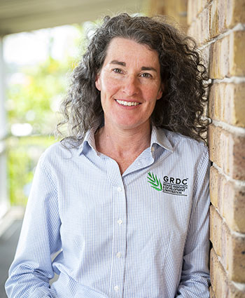 Vicki Green, GRDC Crop Protection Manager