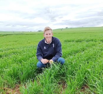 Grains trainee Brendan Kupke