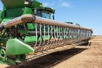 Chickpea harvest losses reduced with a little air