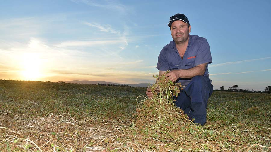 David Giddings, from the Lower Eyre Peninsula, says he has learnt about the importance of getting crops in dry this year. PHOTO Emma Leonard