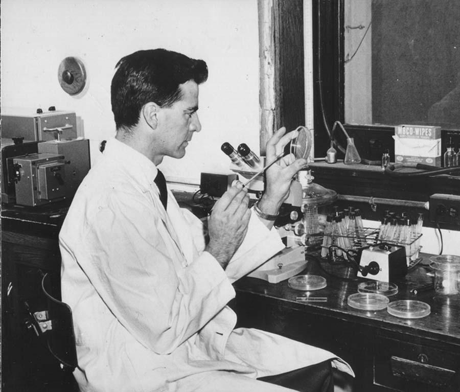 A young Dr Albert Rovira