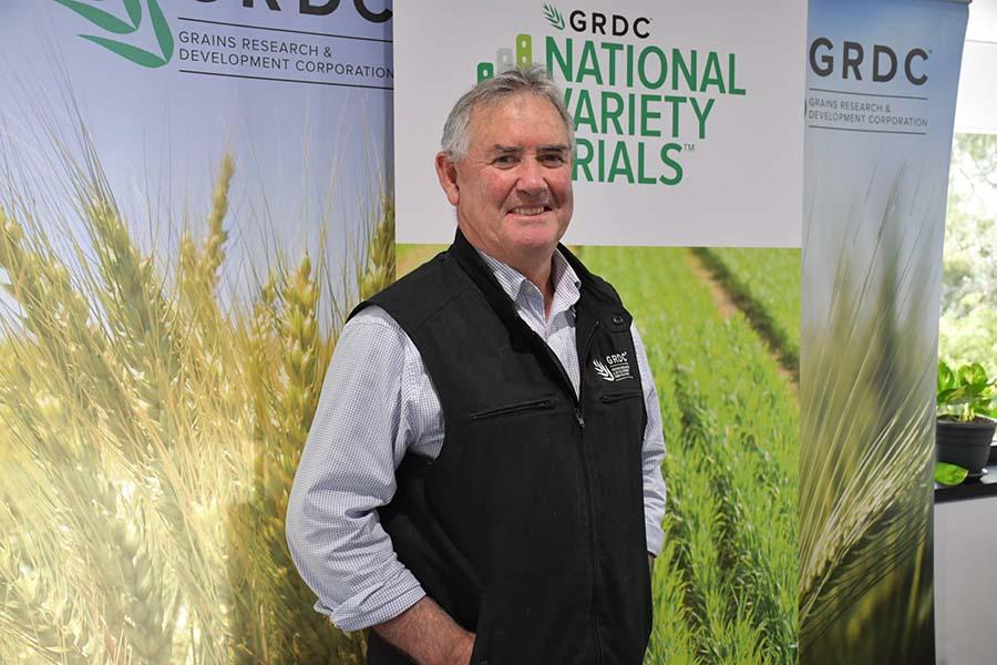 Rob Wheeler, NVT manager - south. PHOTO GRDC