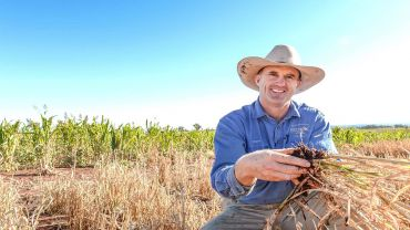 Scholar leaves comfort zone to future-proof NSW farm