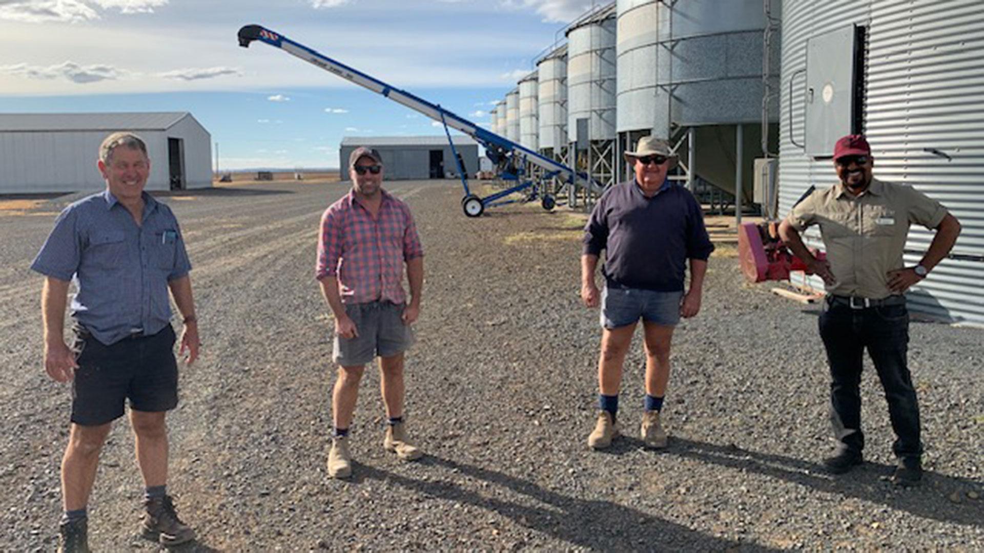 Growers in Darling Downs region